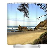 Arcadia Beach Shower Curtain