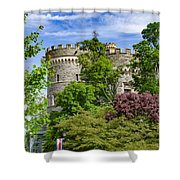 Arcadia University Castle - Glenside Pennsylvania Shower Curtain