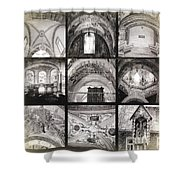 Arch 6 Shower Curtain