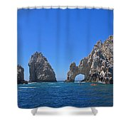 Arch At Cabo San Lucas Shower Curtain