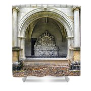 Arch At Fontevraud Abbey  Shower Curtain