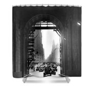 Arch At Grand Central Station Shower Curtain