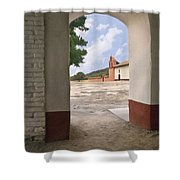 Arch At La Purisima Shower Curtain