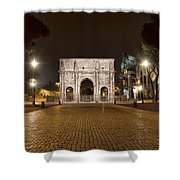 Arch At Night Shower Curtain