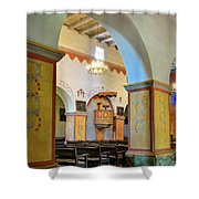 Arch In San Juan Bautista Mission Shower Curtain