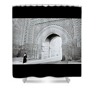 Arch In The Casbah Shower Curtain