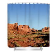 Arch National Park Shower Curtain