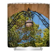 Arch Of The Past Shower Curtain