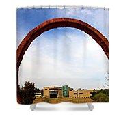 Arch Over Ncma Shower Curtain