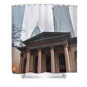 Arch Street Presbyterian Church - Philadelphia Shower Curtain