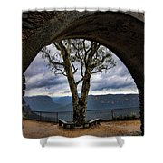 Arch Tree Shower Curtain