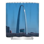 Arch With Lumiere Shower Curtain