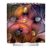 Archaean Shower Curtain