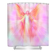 Archangel Metatron Reaching Out In Compassion Shower Curtain