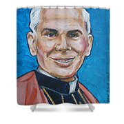 Archbishop Fulton J. Sheen Shower Curtain