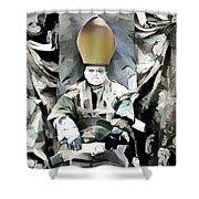 Archbishop Guernica Shower Curtain