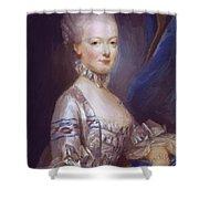 Archduchess Maria Antonia Of Austria 1769 Shower Curtain