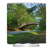 Arched Bridge Overpass  Shower Curtain