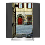 Arched Doorway Shower Curtain