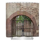 Arched Gate At Heidelberg Castle Shower Curtain