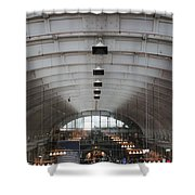 Arched Shower Curtain