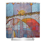 Archeo Shower Curtain