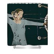 Archer Shower Curtain