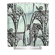 Arches 4 Shower Curtain