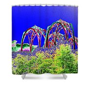 Arches 6 Shower Curtain
