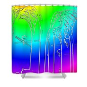 Arches 7 Shower Curtain