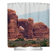 Arches Formation 22 Shower Curtain