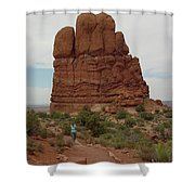 Arches Formation 23 Shower Curtain