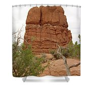 Arches Formation 24 Shower Curtain