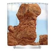 Arches Formation 26 Shower Curtain