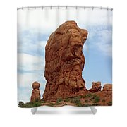 Arches Formation 27 Shower Curtain