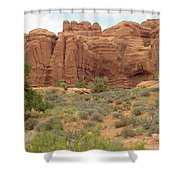 Arches Formation 31 Shower Curtain