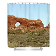 Arches Formation 34 Shower Curtain