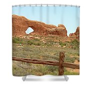 Arches Formation 35 Shower Curtain