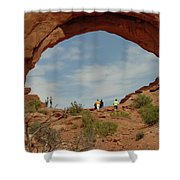 Arches Formation 38 Shower Curtain
