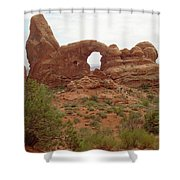 Arches Formation 39 Shower Curtain