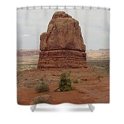 Arches Formation 5 Shower Curtain