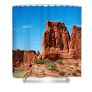 Arches National Park From A Utah Highway Shower Curtain