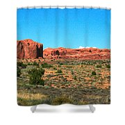 Arches National Park In Moab, Utah Shower Curtain