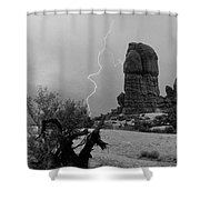 Arches National Park Utah-signed Shower Curtain