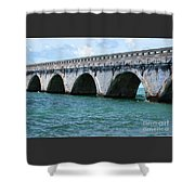 Arches Of The Bridge Shower Curtain