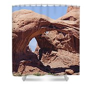 Arches-windows Shower Curtain