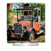 Archies Chevolet Taos Nm Shower Curtain