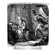 Archimedes (c287-212 B.c.) Shower Curtain