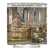 Archimedes Shower Curtain