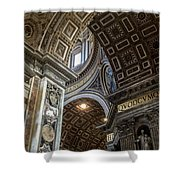 Arching Intersection Shower Curtain